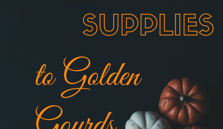 From School Supplies to Golden Gourds…