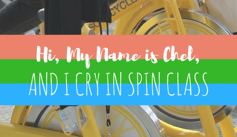 Hi, My Name is Chel, and I Cry in Spin Class