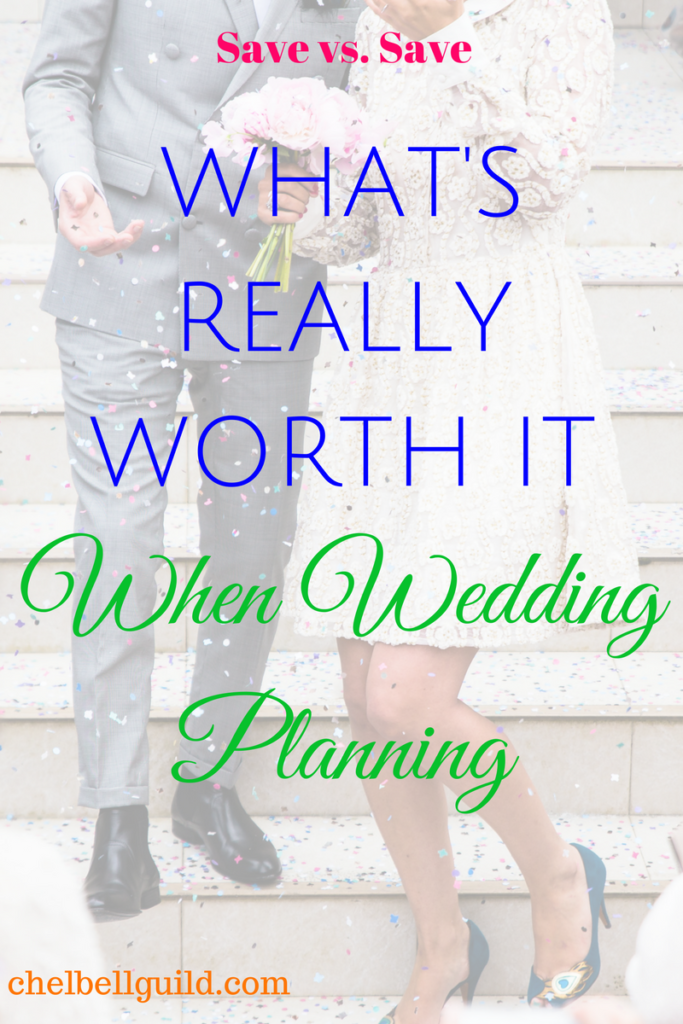 My Save vs. Save article series distinguishes saving in terms of spending less from saving in terms of setting money aside and investing. This week, a sample of women joined me to share what's really worth it when it comes to wedding planning.