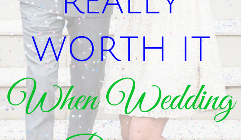 Save vs. Save: What's Really Worth It When Wedding Planning