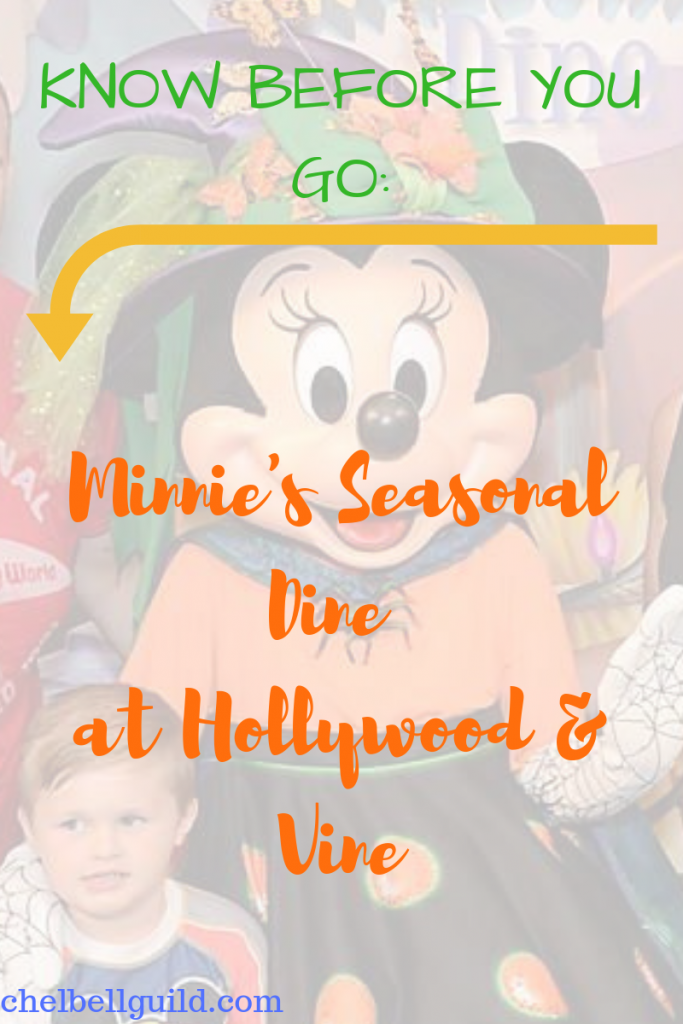 Minnie's Seasonal Dine at Hollywood & Vine inside Hollywood Studios is so much fun! Expect great food, character interactions, and something different every time you go.