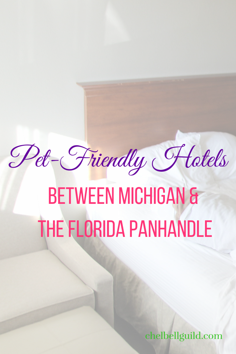 Looking for pet-friendly hotels between Michigan and the Florida Panhandle? Here are the hits and misses.