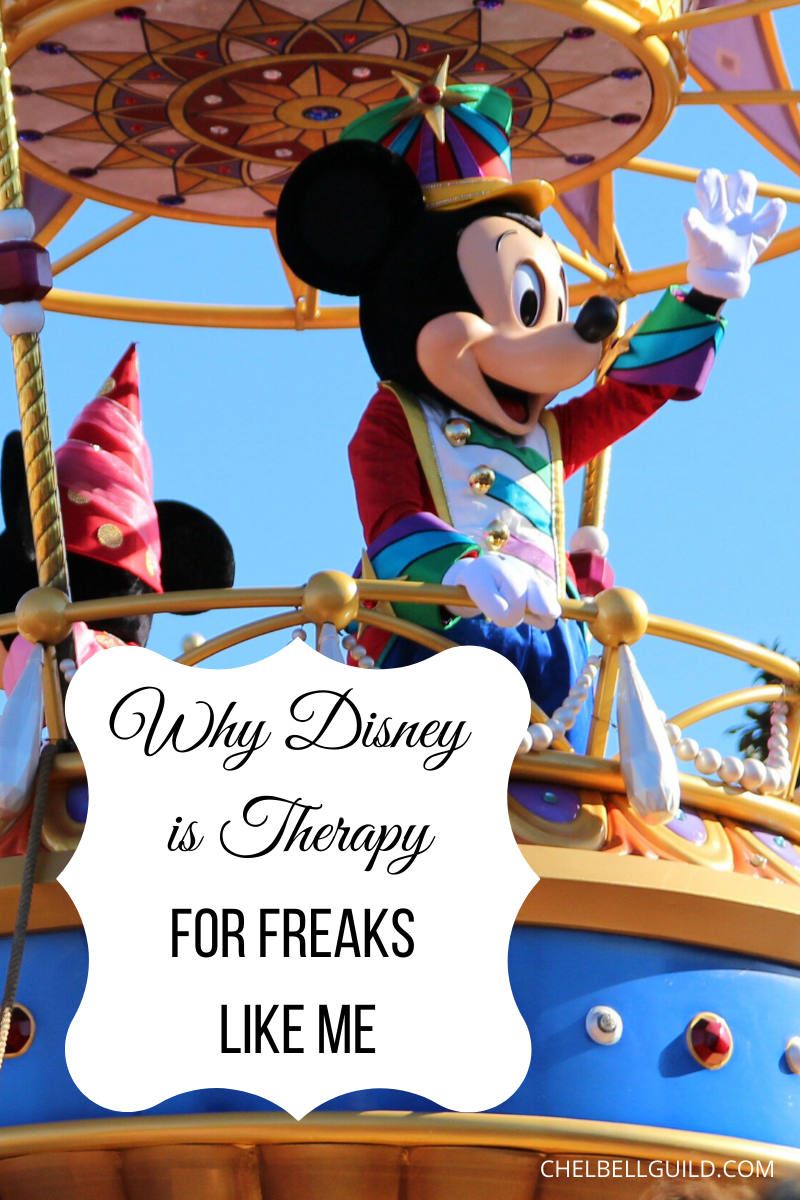 Why Disney is Therapy for Freaks Like Me